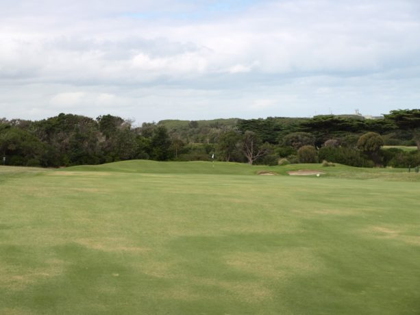 The 13th fairway at Flinders Golf Club
