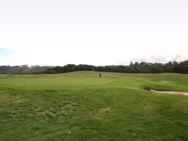 The 14th green at Flinders Golf Club