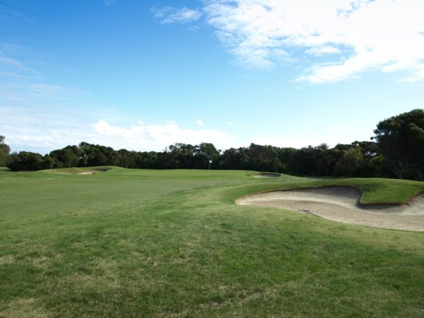 The 17th Green at Flinders Golf Club