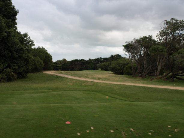 The 3rd tee at Flinders Golf Club