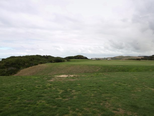 The 4th fairway at Flinders Golf Club