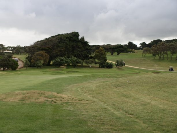 The 5th fairway at Flinders Golf Club