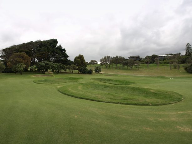 The 5th green at Flinders Golf Club