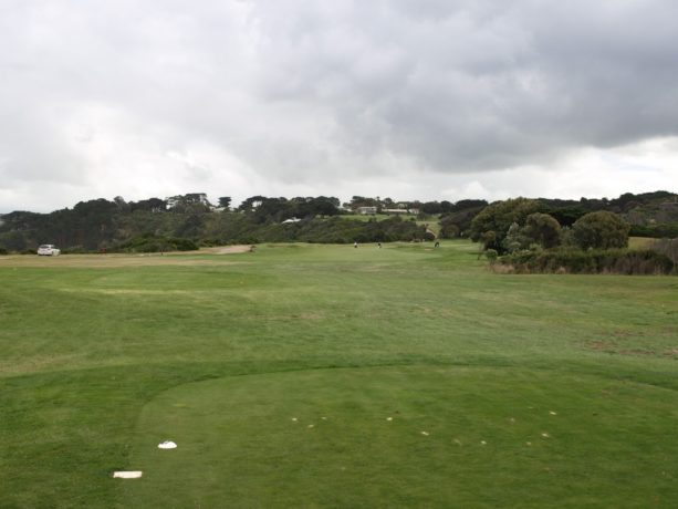 The 5th tee at Flinders Golf Club