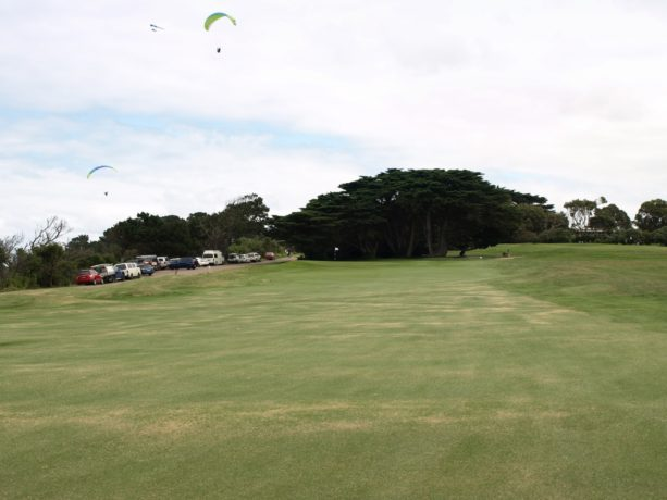 The 6th fairway at Flinders Golf Club
