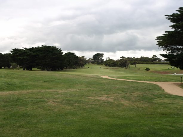The 7th tee at Flinders Golf Club