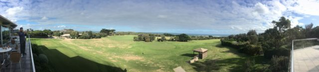 Clubhouse Panoramic view at Flinders Golf Club
