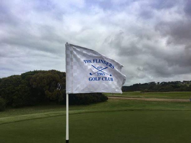 Pinflag at Flinders Golf Club