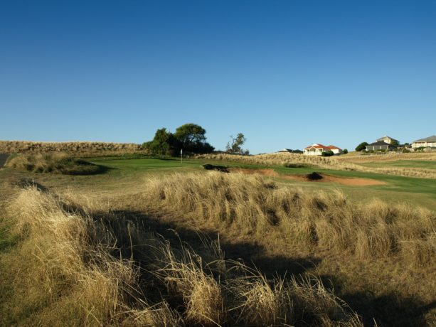 The 10th fairway at Links Lady Bay Golf Resort