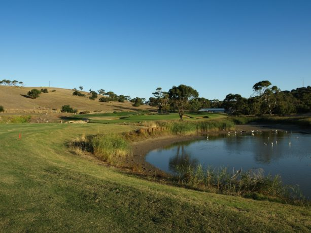 The 14th Fairway at Links Lady Bay Golf Resort