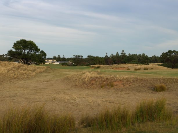 The 2nd fairway at Links Lady Bay Golf Resort