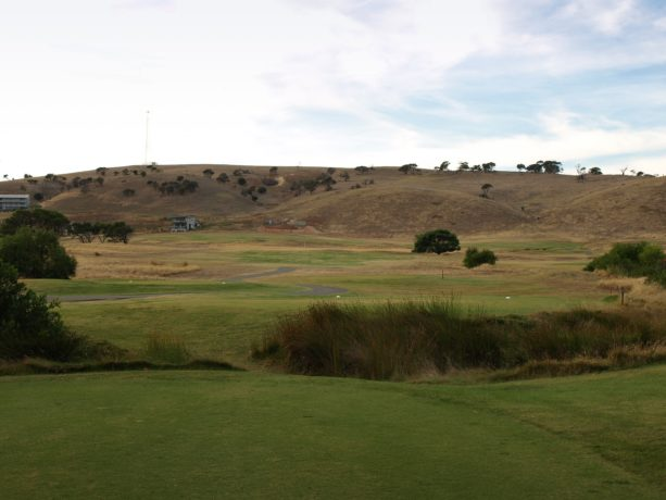 The 3rd tee at Links Lady Bay Golf Resort