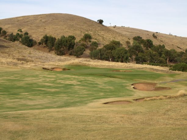 The 4th fairway at Links Lady Bay Golf Resort