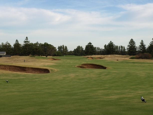 The 5th Fairway at Links Lady Bay Golf Resort