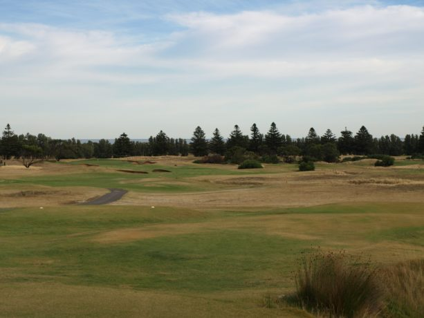 The 5th tee at Links Lady Bay Golf Resort
