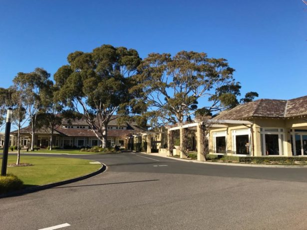 Clubhouse at Royal Melbourne Golf Club