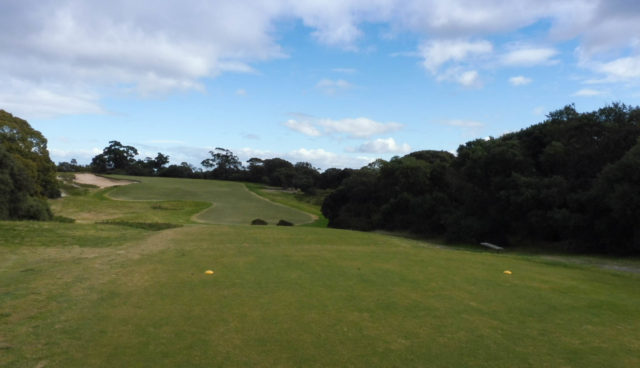 The 10th tee at Royal Melbourne Golf Club West Course