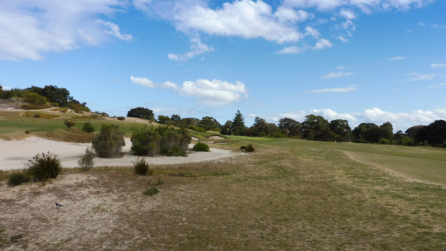 The 14th fairway at Bonnie Doon Golf Club