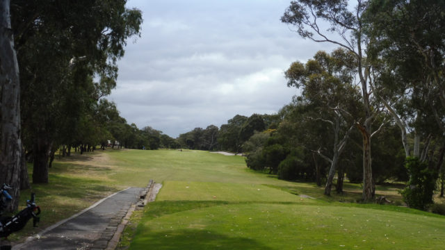 The 10th tee at Woodlands Golf Club