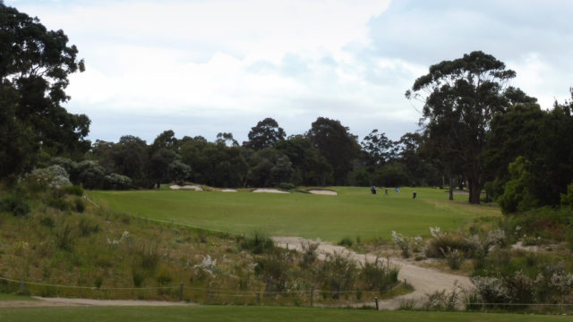 The 12th tee at Woodlands Golf Club
