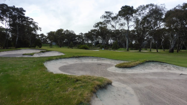 The 16th green at Woodlands Golf Club