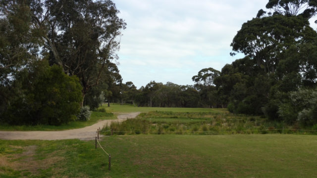 The 7th tee at Woodlands Golf Club