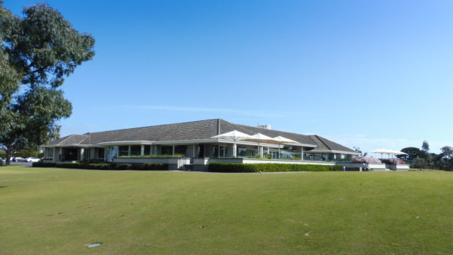 Clubhouse at Woodlands Golf Club
