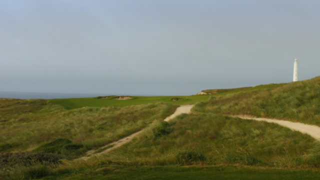 The 15th Tee at Cape Wickham Links