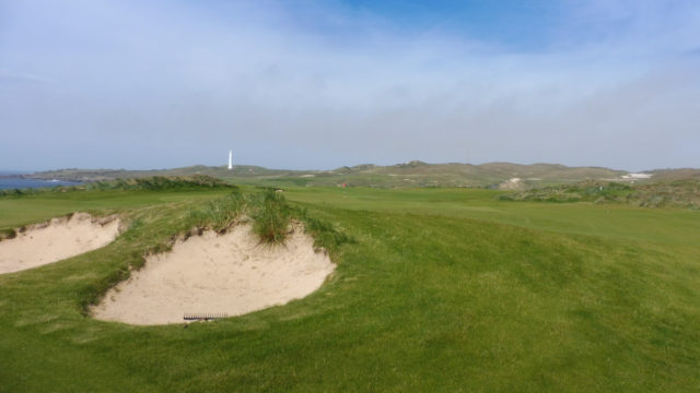 The 4th fairway at Cape Wickham Links
