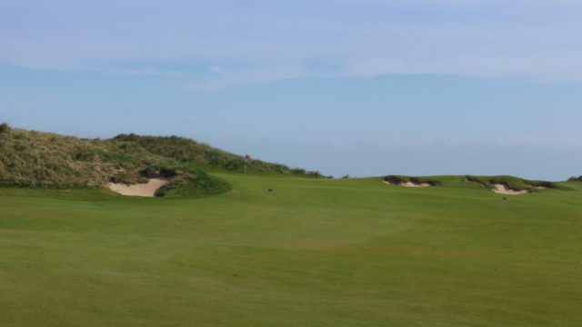 The 6th fairway at Cape Wickham Links