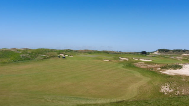 The 12th fairway at Ocean Dunes