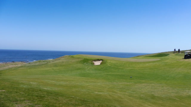 The 13th green at Ocean Dunes