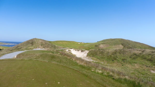 The 13th tee at Ocean Dunes
