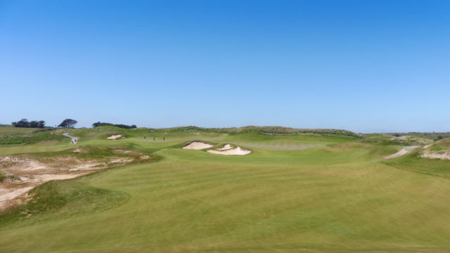 The 15th fairway at Ocean Dunes