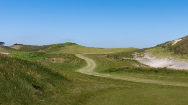 The 15th tee at Ocean Dunes