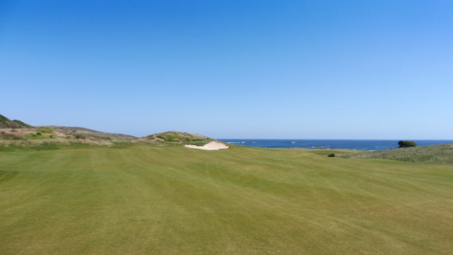The 16th fairway at Ocean Dunes