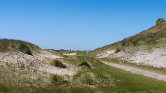 The 17th tee at Ocean Dunes