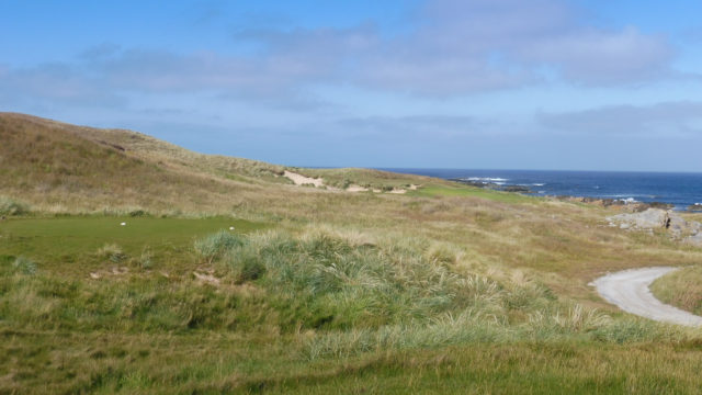 The 2nd tee at Ocean Dunes