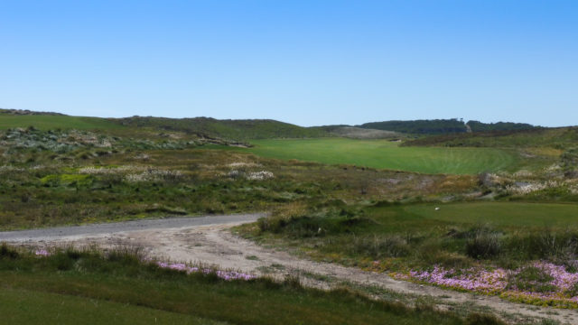 The 5th tee at Ocean Dunes
