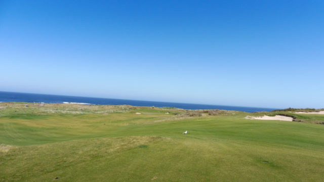 The 6th fairway at Ocean Dunes