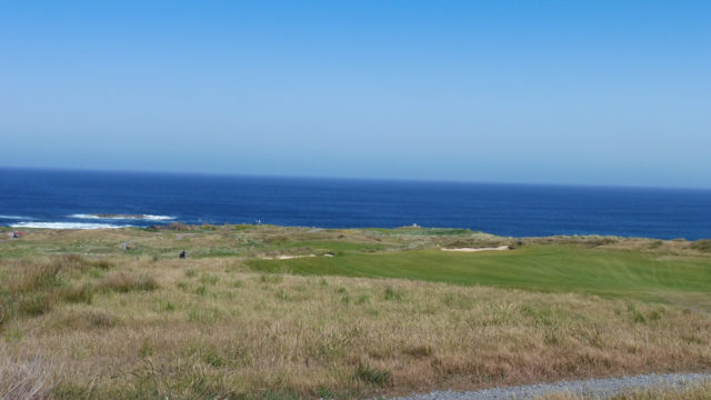 The 6th tee at Ocean Dunes