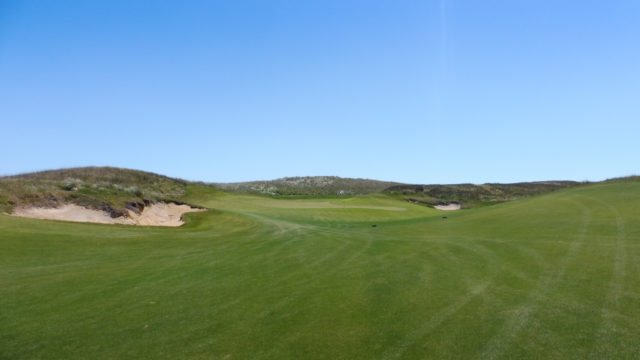 The 7th fairway at Ocean Dunes