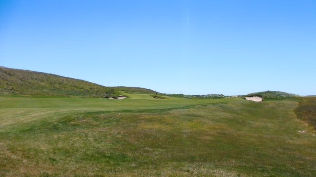 The 9th fairway at Ocean Dunes