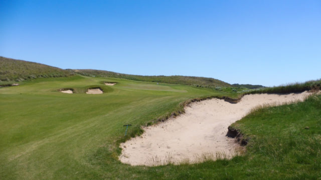 The 9th green at Ocean Dunes