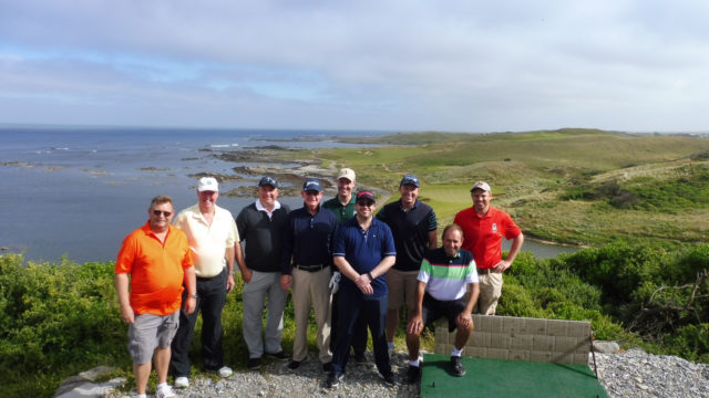 Touring group at Ocean Dunes
