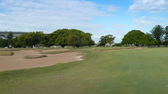 The 10th fairway at Royal Queensland Golf Club