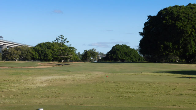 The 10th tee at Royal Queensland Golf Club