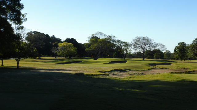 The 11th tee at Royal Queensland Golf Club