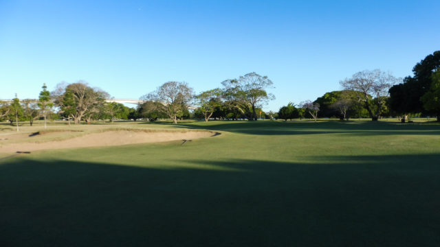 The 13th fairway at Royal Queensland Golf Club