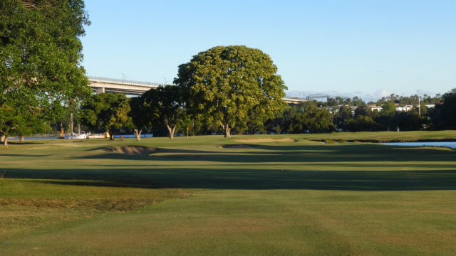 The 15th fairway at Royal Queensland Golf Club